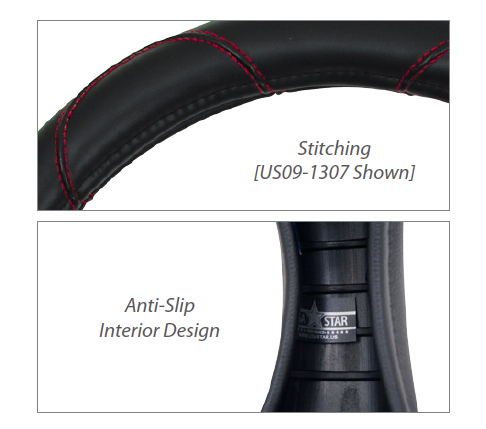 Stitching / Anti-Slip Design