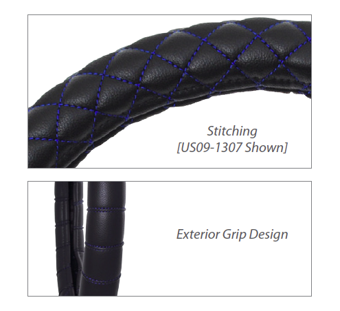 Stitching / Exterior Grip Design